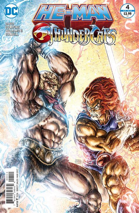 Dc Comics He Thunder Cats 4 March 2017 review he thundercats 4 dc comics big comic page