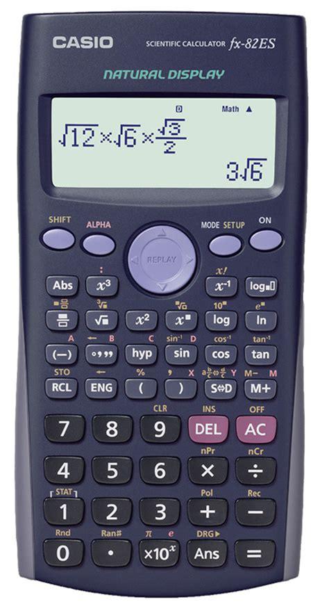 Casio Fx 82es Kalkulator Scientific aim calculators limited product casio