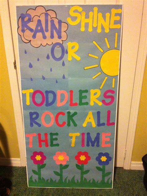 Garden Decoration For Classroom by Toddler Classroom Door Decor Kindergarten Instead Of