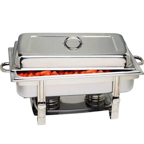 buffet chafing dishes chaffing dish new choice catering classic stainless steel chafing dish 5 qt half buffet