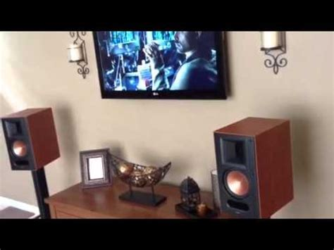 klipsch rb 61 home theater system