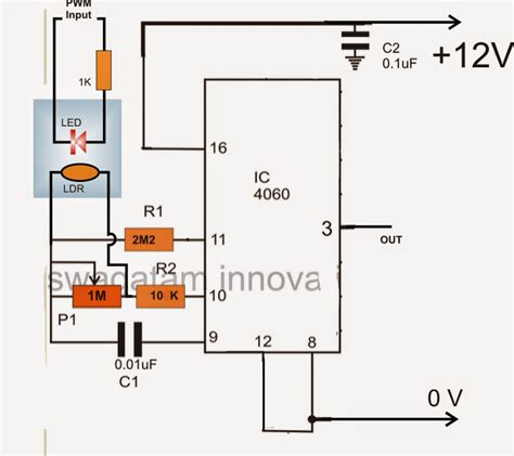 simple voltage controlled resistor 3 phase vfd circuit