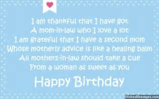 birthday poems for mother in law wishesmessages com