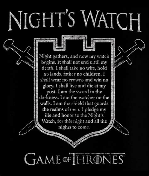 game of thrones night s watch wallpaper night s watch tee thinkgeek