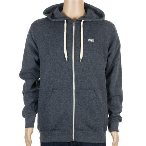 Hoodie Zipper Vans Grey vans basic zip hoodie at skate pharm