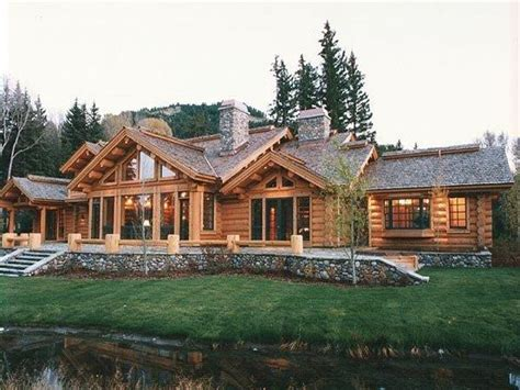 1 story homes 1 story log home plans log cabin ranch homes ranch log