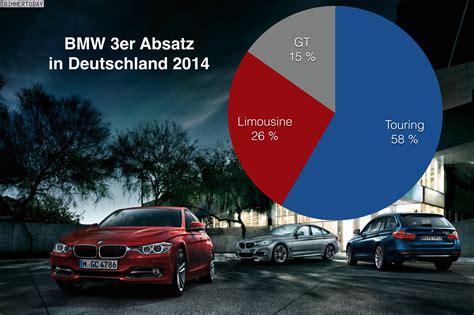 Bmw 2er Verkaufszahlen by Statistik Bmw 3er Absatz 2014 Touring Dominiert Deutschland