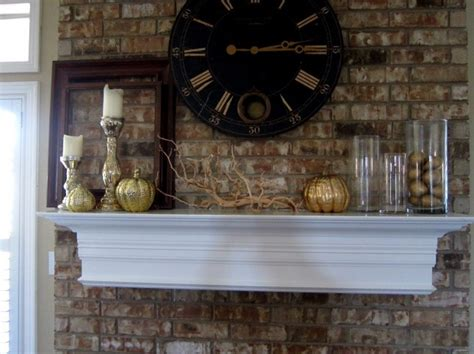 Vases For Fireplace Mantels by Fall Mantle Fireplace Mantels Mantles