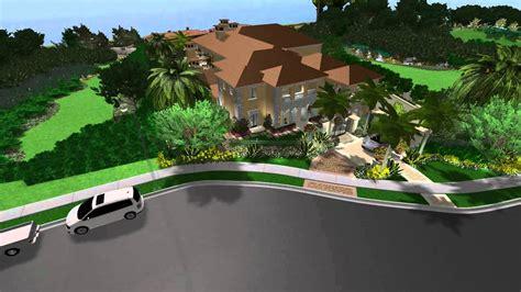 3d landscape design virtual presentation studio presents 3d landscape and pool design virtual presentation studio