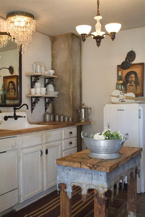 shabby chic kitchen island 50 sweet shabby chic kitchen ideas 2017