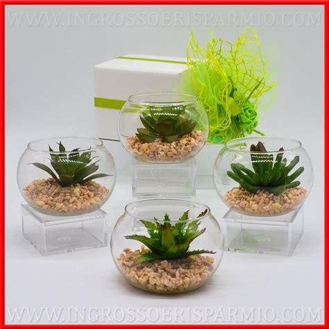 vaso per piante grasse piante grasse finte con vasi vetro novita matrimonio
