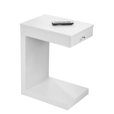 White End Tables With Drawers by Accent Table With Drawer White Everyroom Target