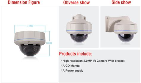 Cctv G Lenz 2 Mp 1080 P Indoor Dome Kamera Glenz Ahd Murah 1 high resolution 2mp 1080p hd 30ir vision onvif h 264 indoor cctv security vandal proof
