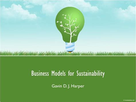 Top Mba Sustainability Programs by Business Models For Sustainability