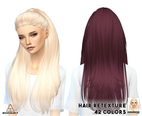 cc hair for sism4 miss paraply nightcrawler s break free hairstyle