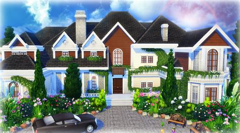 video house the sims 4 house building beryl s base game mansion