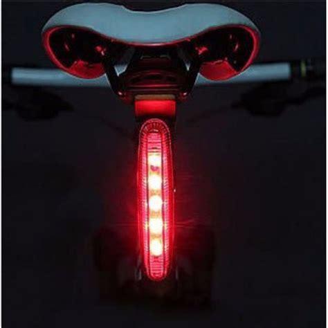 Lu Sepeda Laser Light bicycle taillight 5 led lu sepeda black jakartanotebook