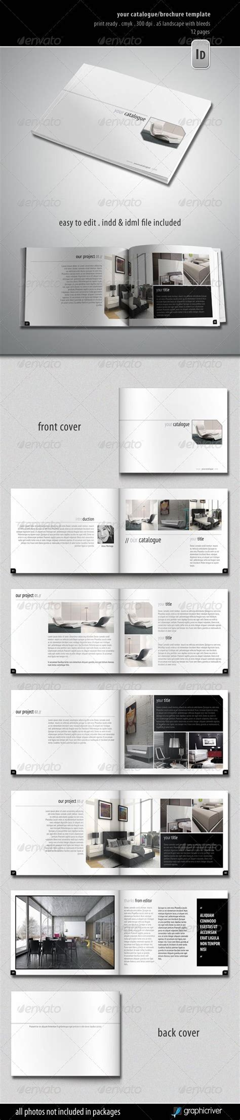 booklet layout design sles your catalogue brochure template graphicriver item for