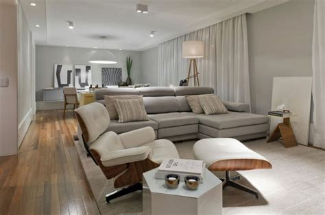 Flat Living Room by Best Fresh Chic Apartment Living Room 20120