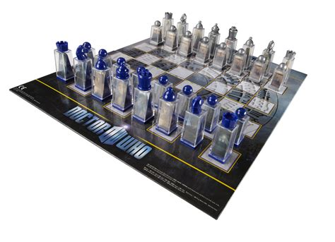 Bor Set doctor who combom review doctor who lenticular animated chess set