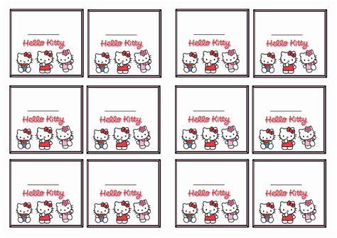 printable hello kitty tags hello kitty name tags birthday printable