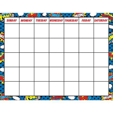 Calendar Chart Calendar Chart Tcr7569 Created Resources