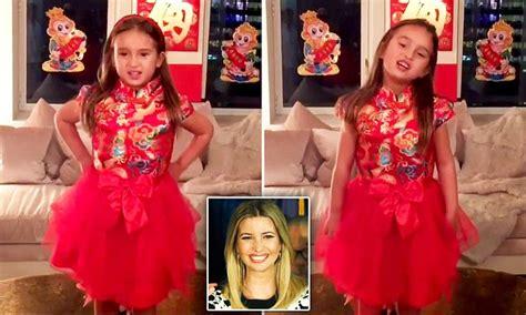 donald trump granddaughter chinese ivanka trump daughter recites in mandarin our rich