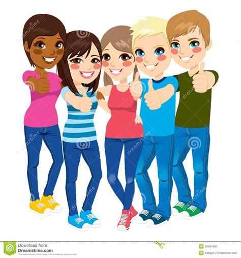 imagenes de niños y adolescentes pulgares derechos de los adolescentes para arriba