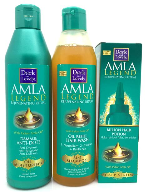 amla ledgen dark lovely amla legend shampoo serum oil