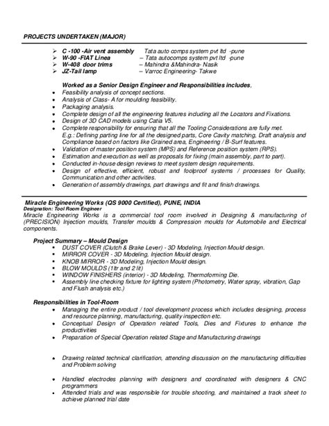 Automotive Resume by Automotive Resume Sacheen 09