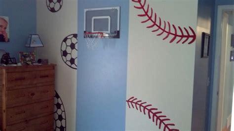softball bedroom ideas sports themed bedroom idea it makes me smile