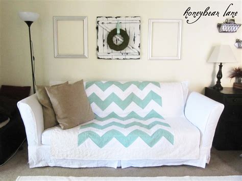 How To Make A Sofa Slip Cover by How To Make A Slipcover Part 2 Slipcover Reveal