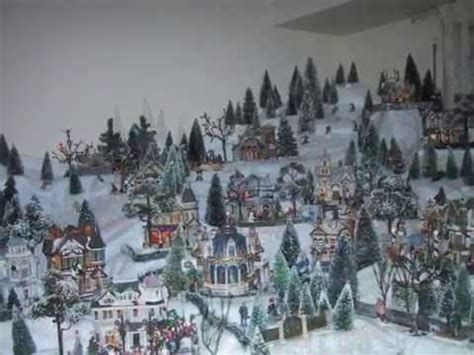 youtube make a village display lemax displays lovely winter