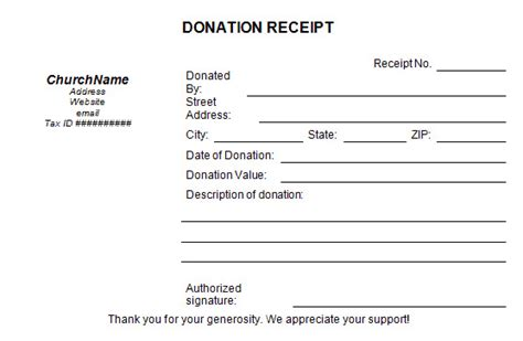 charity auction receipt template charity receipt template uk templates resume exles