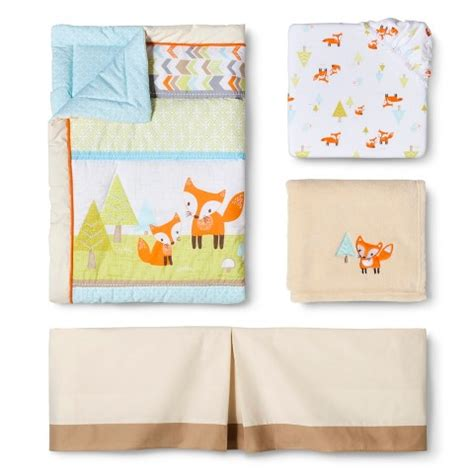 Woodland Crib Bedding Sets Circo 174 4pc Crib Bedding Set Woodland Trails Baby Cave Inspiration Crib