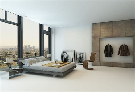 modern minimalist bedroom modern minimalist classical bedroom wooden floor 3d