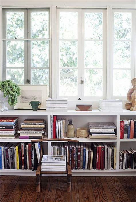 shelves window and bookshelves on