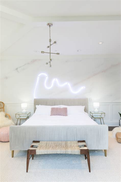 palm springs pastel bedroom makeover  alisha marie