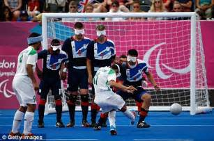 paralympics blind football paralympics 2012 great britain 0 iran 1 blind
