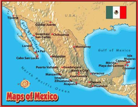 map of mexico cabo map cabo mexico holidaymapq