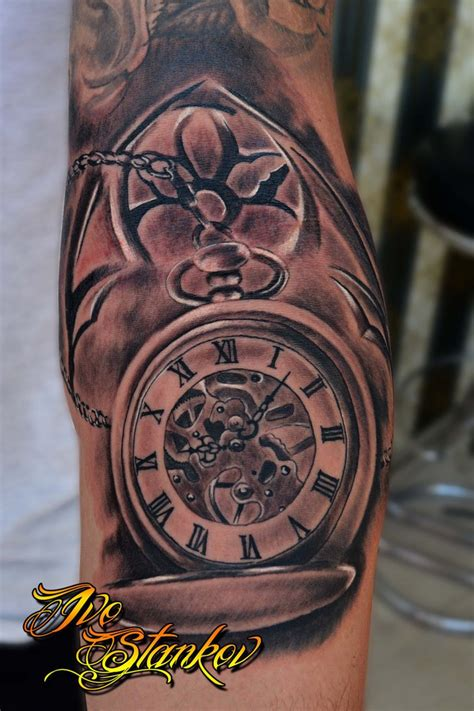 tattoo designs of clocks clock by ivo stankov tattoos clock