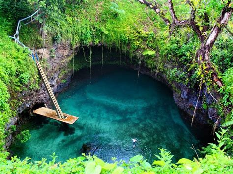 Emerald Garden Redondo Beach by Samoa S Most Beautiful Swimming Spot To Sua Ocean Trench