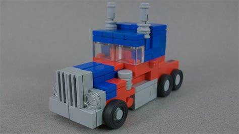 Transformer Optimus Prime Lego lego transformers optimus prime mikey s legos lego