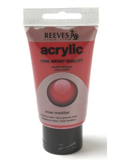 acrylic paint reeves papertree reeves acrylic paint madder