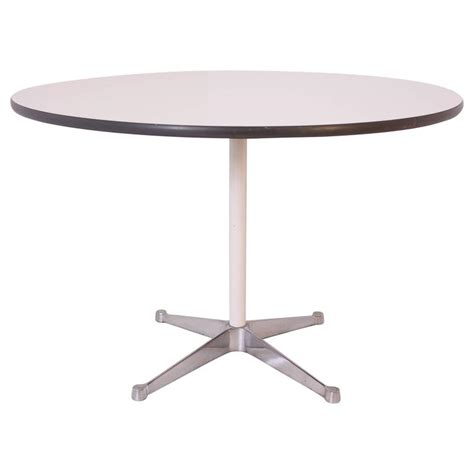 herman miller dining table by charles and eames for