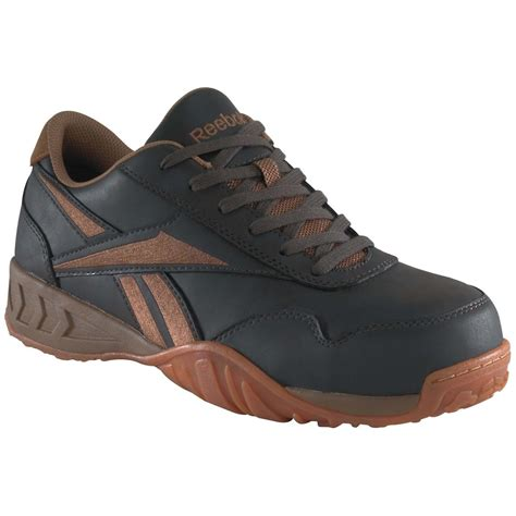 reebok safety shoes s reebok 174 safety toe low profile casual shoes