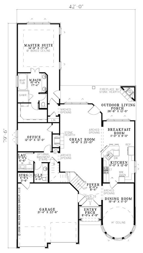 nelson design group home plans nelson design group 1184 floor plan ndg plans pinterest