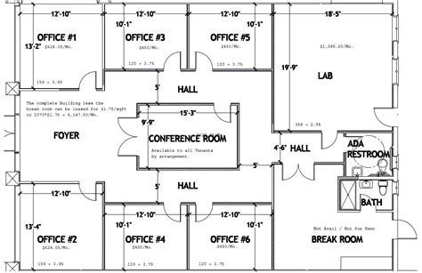 office space floor plan office space floorplans pinterest office spaces