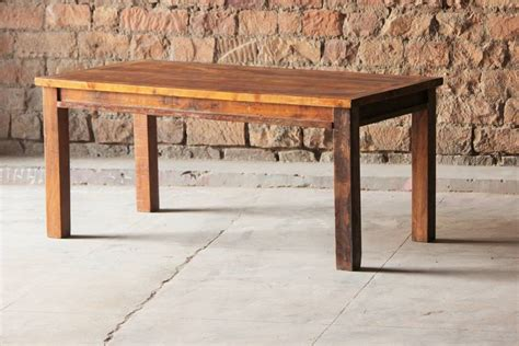 upcycled dining table rustica upcycled dining table by tree furniture