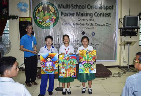 contest best day multi school on the spot poster competition green